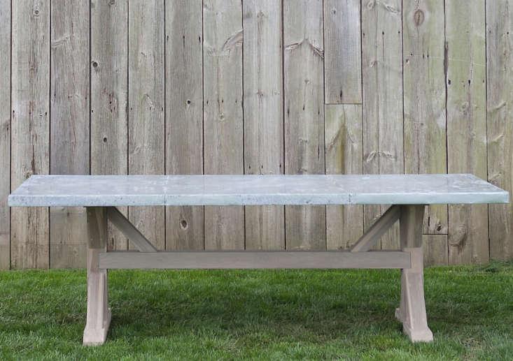 Zinc-Top-Trestle-Table