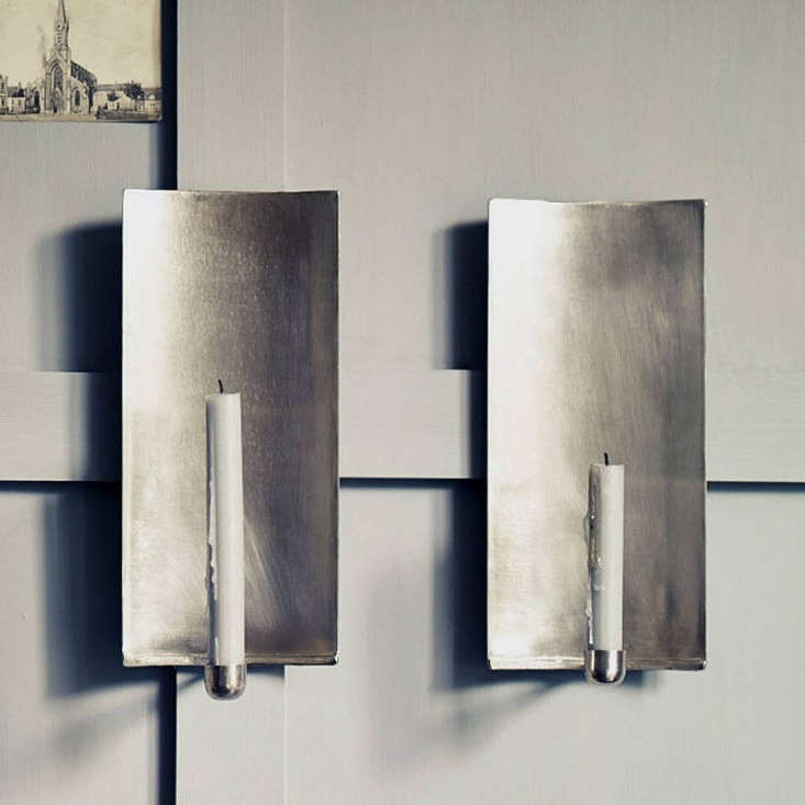 Candles Sconces For The Wall : 10 Favorites: Wall-Mounted Candleholders as Mood Lights: Remodelista