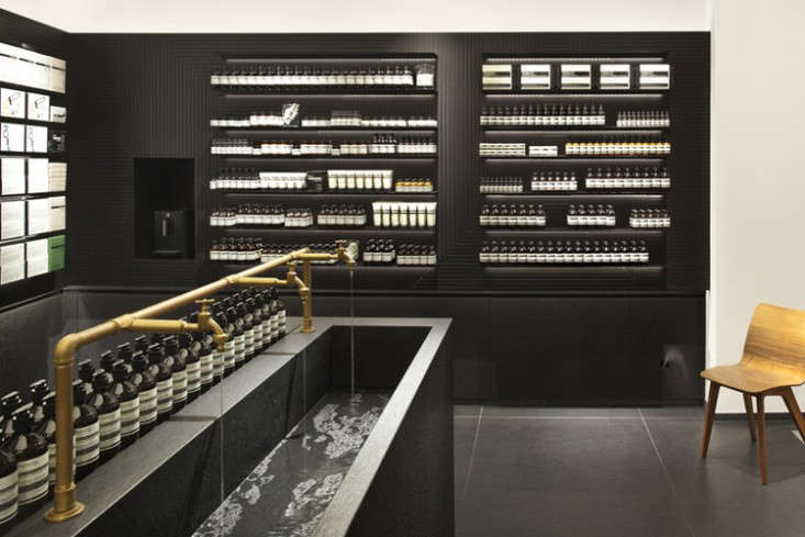 the aesop experience 19 favorite sinks at aesop stores worldwide remodelista. Black Bedroom Furniture Sets. Home Design Ideas