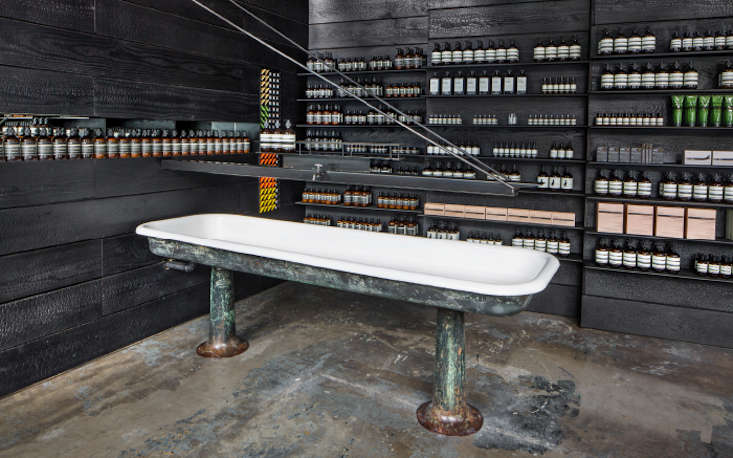 The aesop experience 19 favorite sinks at aesop stores worldwide remodelista for Interior car detailing portland or