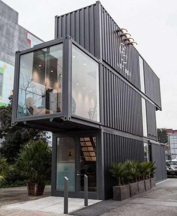 10 Shops And Restaurants Made From Shipping Containers Remodelista