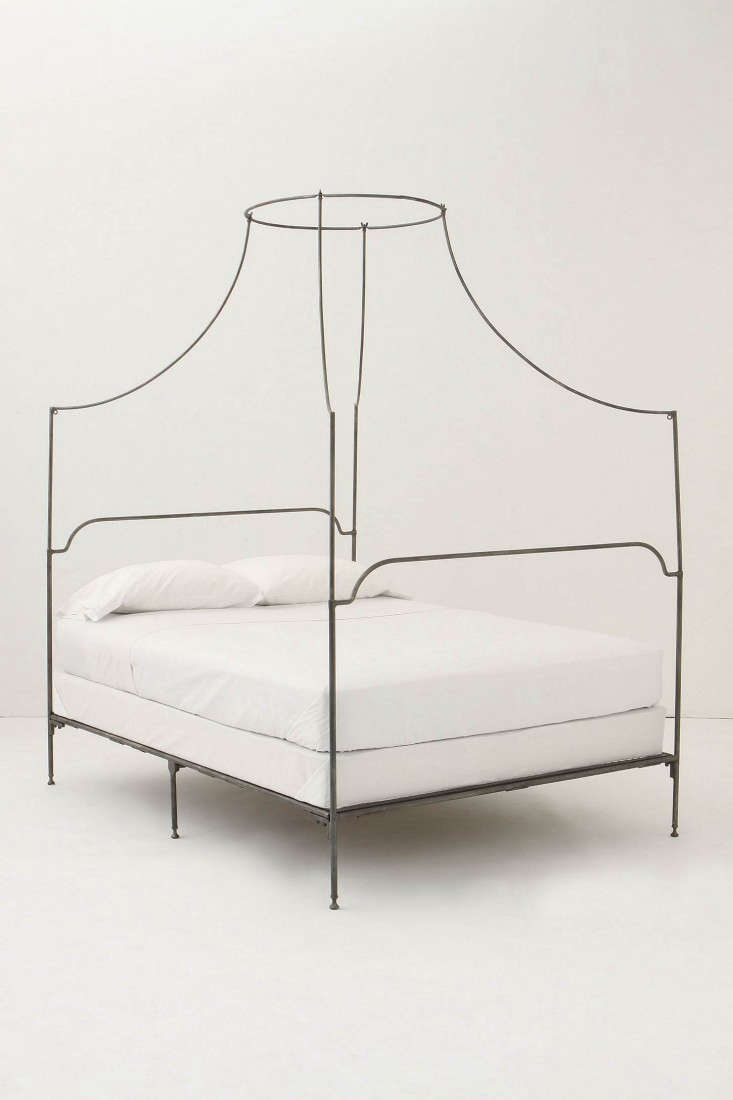 anthropologie-italian-campaign-canopy-bed-remodelista
