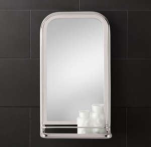 Astoria Mirror Restoration Hardware/Remodelista