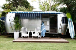 Summery Airstream Trailer by Byron Bay | Remodelista