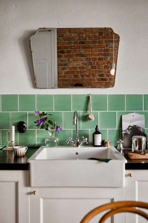 bath-mirror-in-the-kitchen-remodelista-little-green-shed-fine-little-day