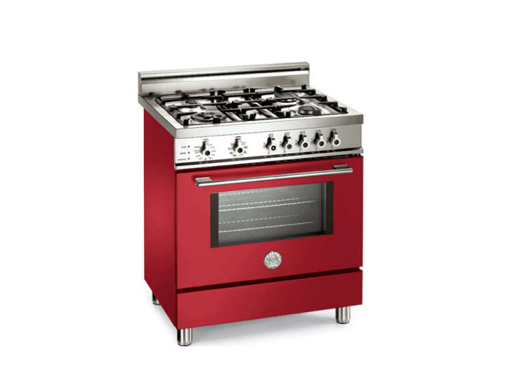 7 high-style italian kitchen ranges - remodelista