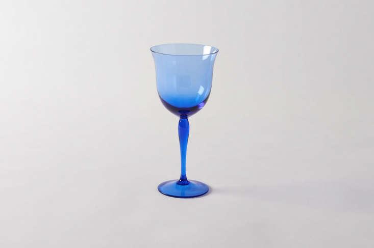 billy-cotton-blue-glassware-remodelista