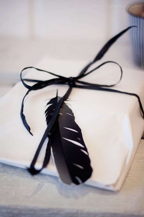 black-feather-gift-wrap-remodelista