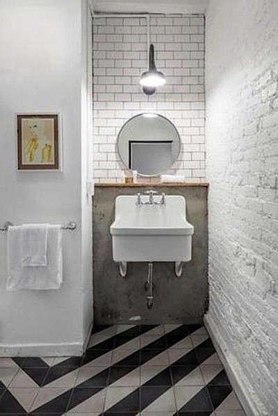 black-white-moroccan-tile-bath-remodelista