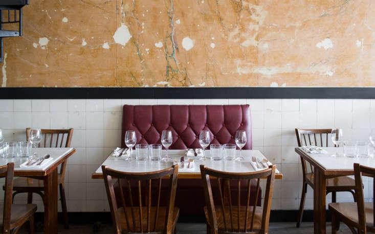 bones restaurant banquette paris