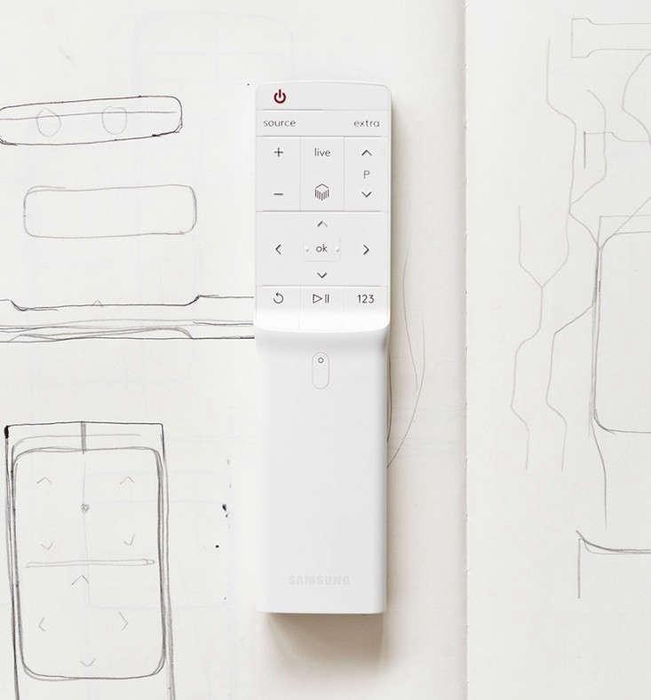 bouroullec-samsung-serif-television-remote-via-designboom-Remodelistajpg