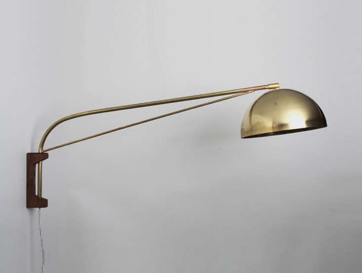 allied maker 39 s arc wall lamp remodelista. Black Bedroom Furniture Sets. Home Design Ideas
