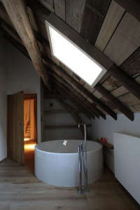 A Bathroom by Belgian LENS-ASS Architected I Remodelista