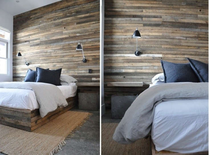 11 Wood Paneled Walls As Headboards Remodelista