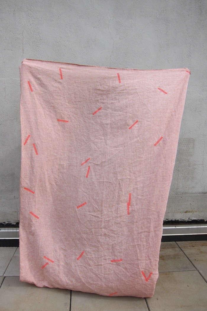 carolinezhurley-linen-throw-pick-up-sticks-pink-remodelista