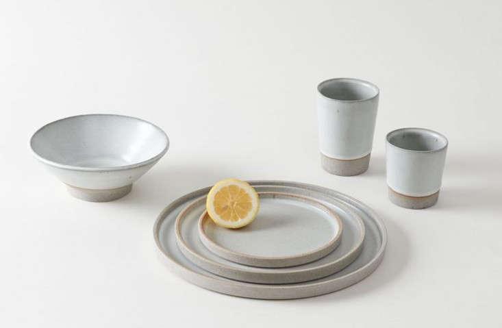& 10 Easy Pieces: Handmade Dinnerware from Ceramics Studios - Remodelista