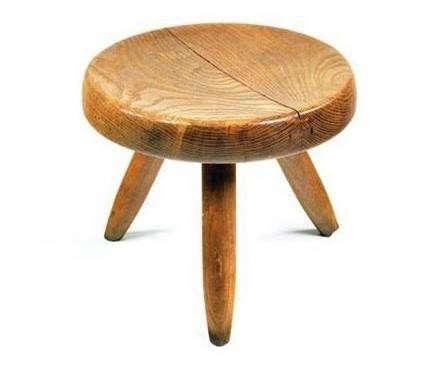 charlotte-perriand-stool-light-wood-remodelista