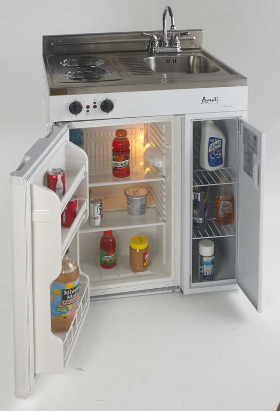 Model Ck30 2 30 In Complete Compact Kitchen With