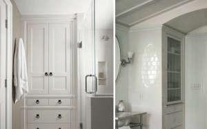 Closet in Bathroom/Remodelista