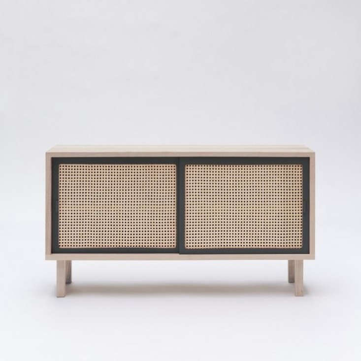 colonel-cane-sideboard-gray