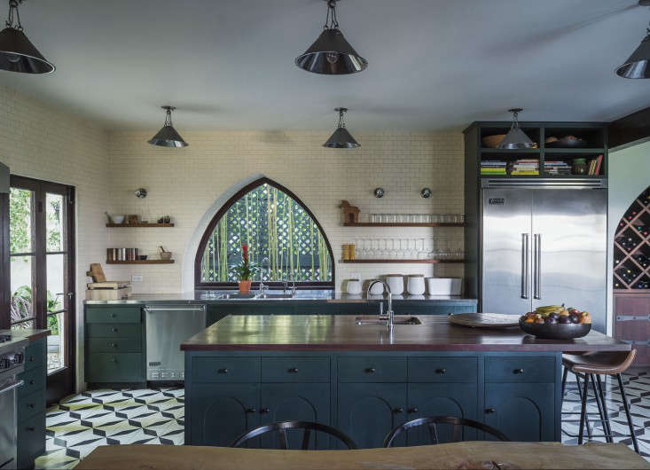 steal this look an exotic tiled kitchen by la design firm commune remodelista california interiors commune designs