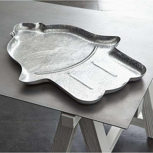 como aluminum tray remodelista aluminum crate barrel