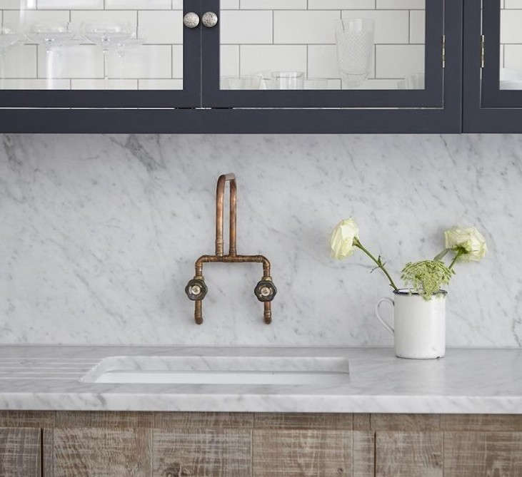 Bathroom Lighting Remodelista: Trend Alert: 9 Ways To Use Copper In The Kitchen: Remodelista