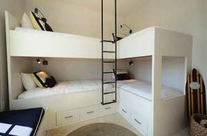 Corner Bunks in Florida at Alys | Remodelista