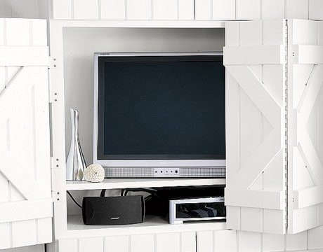 12 Elegant Solutions For Hiding A Flat Screen Tv Remodelista