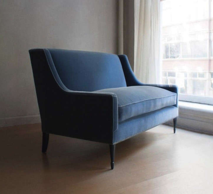 10 Easy Pieces: The Blue Velvet Sofa, Luxe Edition