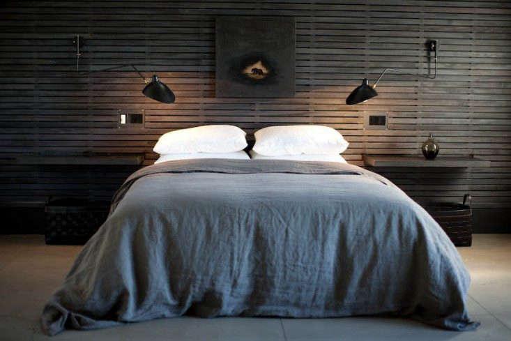 11 Wood Paneled Walls As Headboards Remodelista