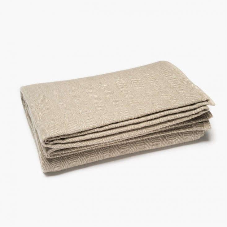 faribualt-herringbone-wool-blanket-remodelista