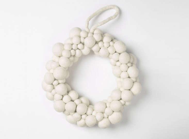 felt-ball-wreath-white-west-elm-remodelista