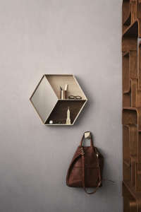 Ferm Living Hex Shelf/Remodelista