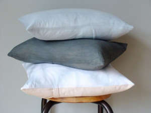 flower sack pillows by 2 Jacs, Remodelista