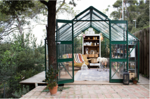 Gang and the wool glass house | Gardenista