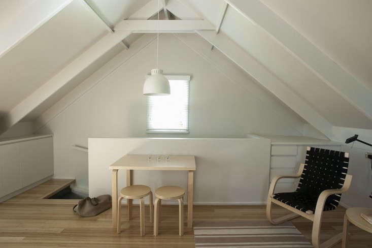 garage studio loft ideas - Small Space Living An Airy Studio Apartment in a Garage