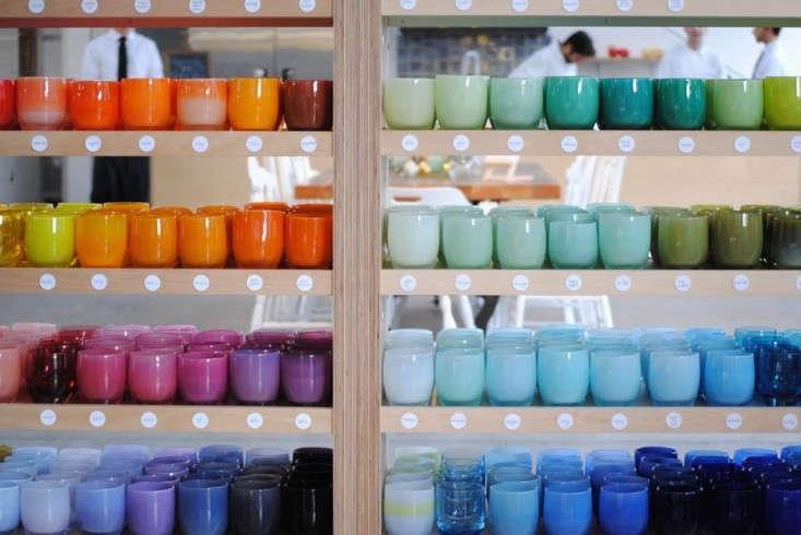 Now open glassybaby hot shop in berkeley remodelista for Glassybaby