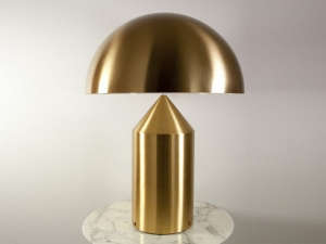Gold Magistretti Table Light | Remodelista