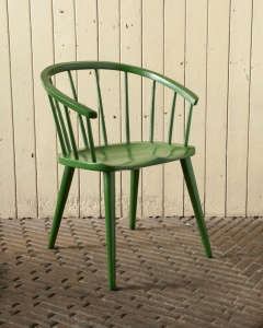 Green Windsor Chair/Remodelista