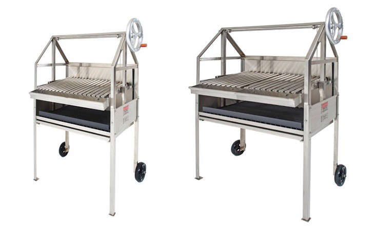 10 Easy Pieces Outdoor Charcoal Grills Remodelista