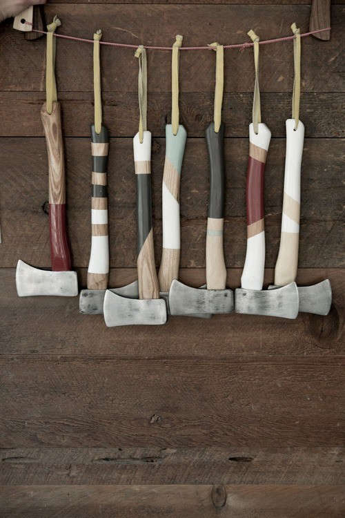 hanging-painted-axes-remodelista