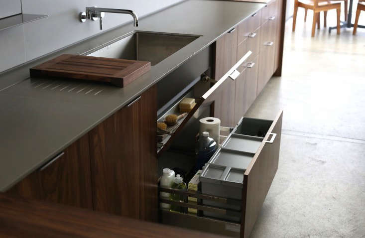 henrybuilt makes a clever utility drawer for under sink cleaning supplies. 21