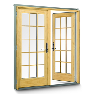 Anderson 400 Series Frenchwood Hinged Patio Door Remodelista