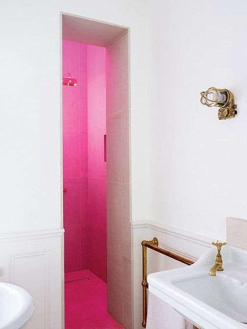 hot-pink-shower-remodelista