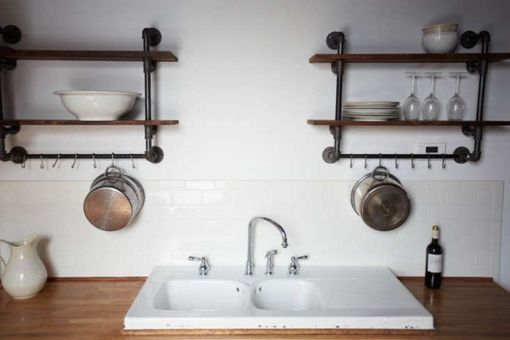 Something to consider: Divided sinks offer relatively little washing space. See Steal This Look: Hudson Milliner Kitchen in New York for more.