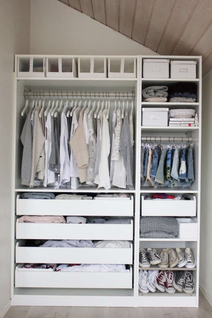 10 easy pieces modular closet systems high to low for Closet organizer small closet