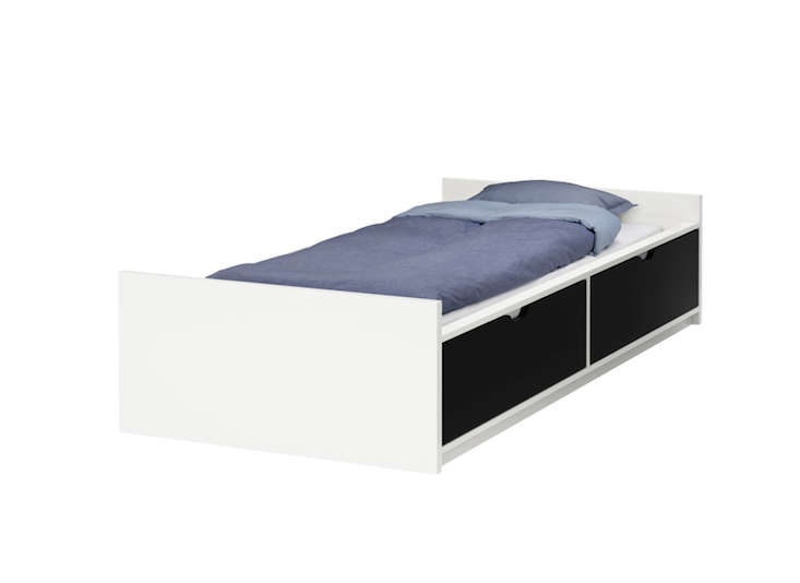 Flaxa Bed Frame With Storage, Ikea Bed Frame With Storage Canada