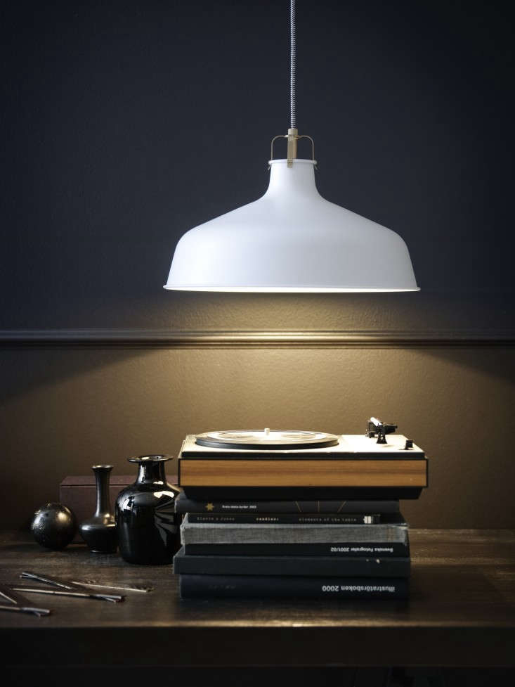 industrial chic lighting from ikea remodelista. Black Bedroom Furniture Sets. Home Design Ideas