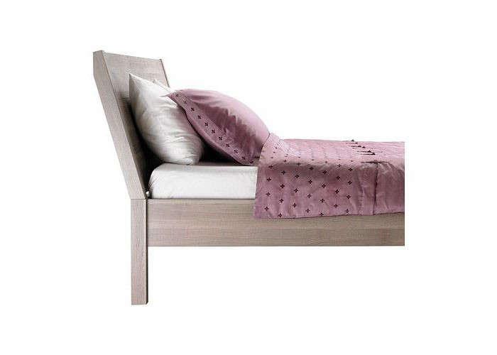 five favorites wooden beds with angled headboards remodelista. Black Bedroom Furniture Sets. Home Design Ideas